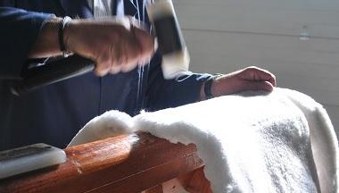 elaboración de silla de montar artesanal guarnicioneria bejar