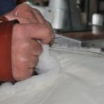 sillas de montar artesanas coser a mano borreguillo